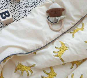 DOWNY CHEETAH BEDDING