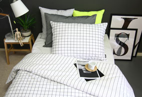 GRID BEDDING SET